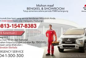 Baner Layanan Home Service Mitsubishi Bintaro